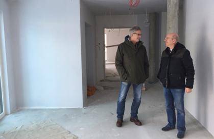 Bernd Wehbrink (links) mit Dr. Leonard Habets