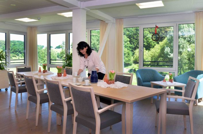 Wohnküchengemeinschaftsraum